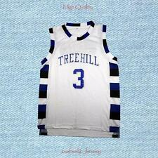 One Tree Hill Lucas Scott 3 Ravens Basketball Jersey White New