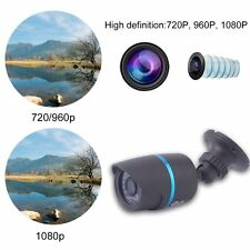IP Bullet Camera Outdoor Waterproof IR Night Vision Outdoor Security Camera AU