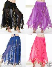 Brand New Beatiful Belly Dance Skirt 12 Colors Available One Size Free Shipping