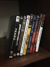 PC DVD Video Games Harry Potter Driv3r Donald Duck Warcraft F.E.A.R Far Cry 2