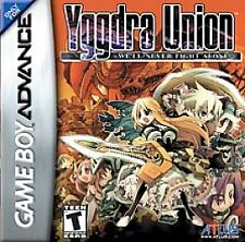 Yggdra Union: We'll Never Fight Alone (Nintendo Game Boy Advance, 2006) complete