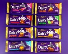 Irish Cadbury Chocolate **Tiffin, Golden Crisp, Turkish, Mint Crisp, Caramello**