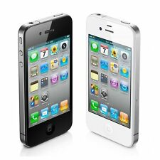 "Unlocked Apple iPhone 4 4G iOS 16GB 3.5""Original  Smartphone 3G White/Black GPS"