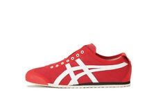 New Onitsuka Tiger SLIP-ON MEXICO 66 TH3K0N Red-White F/S from Japan asics