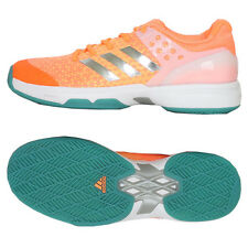 Adidas 2017 adiZero Ubersonic 2 Women's Tennis Shoes Orange/Green BB4810