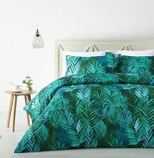 NEW Palms Double Sided Quilt Cover Set