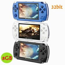 LCD 8GB 4.3'' 32bit Li-On Portable Handheld Video Game Console Player MP4 Toys