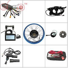 36V 48V 1000W Fat Bike Fat Tire Front or Rear Motor Wheel Ebike Conversion Kit