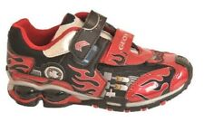 Geox B Fighter2 E Boys Light Up Trainers