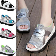 New Women Platform Shoes Gladiator Woman Sandals Summer Casual Peep Toe Shoes H
