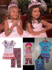 Size 6- 12 American Girls Doll Clothes Matching Top & Capri Outfit Dollie and Me