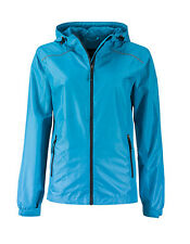 Rain jacket for Women'S Jacket Breathable Waterproof sealed Stitched S - XXL