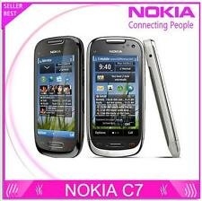 C7-00 Nokia C7 3G Wifi A-GPS Java 8MP mobile phone 8GB camera internal storage