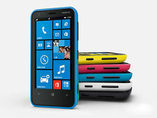 "Nokia Lumia 620 3.8"" 3G Wifi 5MP Dual Core 8GB GPS Windows OS Original Unlocked"