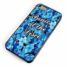 Panic At The Disco Indie Blue Floral Pattern iPhone Range Cover Case Indie Rock