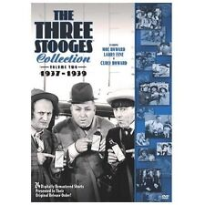 The Three Stooges Collection - Vol. 2: 1937-1939 (DVD, 2008, 2-Disc Set) NEW