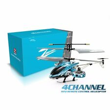 AVATAR Z008 4CH 2.4G Metal RC Remote Control Helicopter LED Light GYRO RTF