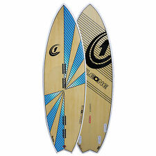 5ft 6inch Bamboo Swallow Tail Quad Fin Kiteboard