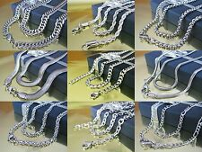 Stainless Steel Curb Chain Anchor Ball Necklace Pea Rope King's