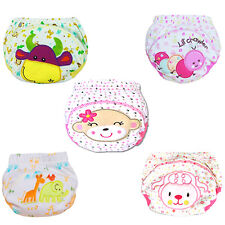 Baby Cotton Training Pants Reusable Cloth Washable Infant Nappies Diaper Popular