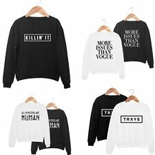 Fashion Women Casua Long Sleeve Hoodie Sweatshirt Coat Pullover Tops Clothes HOT