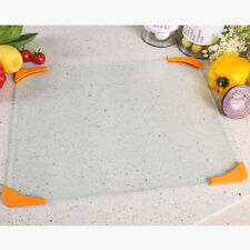 30cm*40cm Tempered Glass Cutting Chopping Board Kitchen Surface Chef Boar