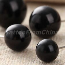 50pcs Needle Doll Eyes Plastic Iron Wire For Lovely Teddy Bear Puppet Toy Making