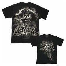 Sons Of Anarchy SAMCRO Reaper Smoke SOA Men's T-Shirt
