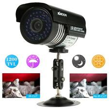 KKMOON 1200TVL Outdoor Waterproof Home CCTV Security IR Night Vision PAL S2W7