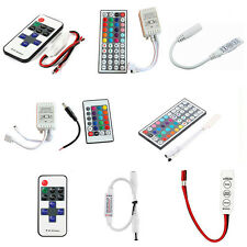 3528 5050 RGB LED Strip Light 3/10/24/44 Key IR Remote Wireless Controller STUS