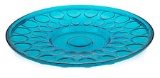 NEW Large Round Recycled Glass Bubble Platter