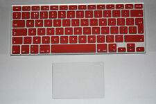 "Keyboard Skin Cover UK layout for Apple Macbook Pro Air Retina 13"" 15"" 17"""