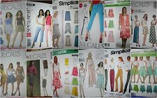Choose a sewing PATTERN BOTTOMS Skirts Pants some EASY casual fancy Vogue