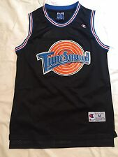 Space Jam Black Tune Squad Basketball Jersey Michael Jordan MJ 23 Swingman NWT