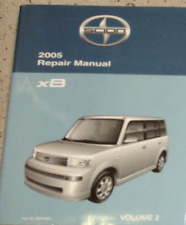 2005 Toyota Scion xB XB X B Service Shop Repair Manual VOLUME 2 ONLY Brand New