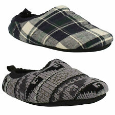 KITE SNOOZE MENS CLARKS SLIP ON SOFT WARM COSY FLEECE LINED INDOOR SLIPPERS