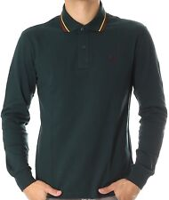 Polo T-shirt Men's Sweater Men Fred Perry Made In Italy 3207
