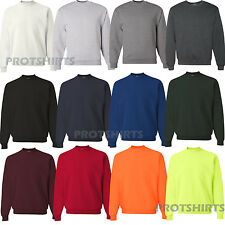 Jerzees - SUPER SWEATS Mens Crewneck Sweatshirt - 4662MR