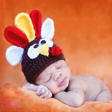 Hot Baby Beanie Hats Toddler Infant Knitted Crochet Handmade Wool Animal Cosplay