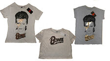 Primark David Bowie t-shirt top all sizes BNWT free UK postage