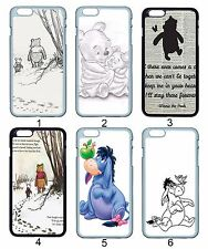 Winnie the Pooh Piglet Eeyore For Apple iPhone iPod & Samsung Galaxy Case Cover