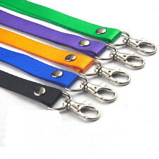 Neck Strap Lanyard Safety Breakaway For ID Card Name Badge Holder Key Cards Lot