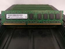 LOT 26 MICRON MT18JSF25672AZ-1G1 2GB 2Rx8 DDR3 PC3-8500E 1066MHz UNB MEMORY RAM