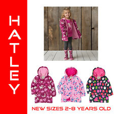 Outlet Hatley Girls Raincoat Waterproof Kids Rain Jacket Sizes 2 3 4 5 6 7 8 PVC
