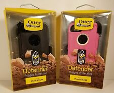 NEW Otterbox Defender series case + Holster belt Clip for Apple Iphone 5/5S /SE
