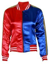 SUICIDE SQUAD HARLEY QUINN JACKET HOLLOWEEN COSTUME COSPLAY