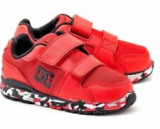 DC Forter V Black Red White Infant Toddler Baby Boy Shoes Sneakers Size 6 - 9