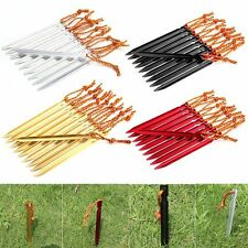 4~8x Outdoor Camping Tent Peg Aluminum Alloy Ground Nail Triangular Stakes 18cm