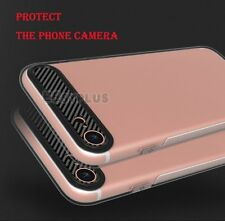 Luxury Carbon Fiber Soft TPU Silicone Thin Case Cover for Apple iPhone 6 7 Plus