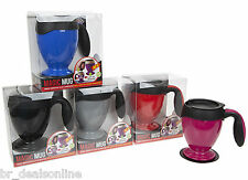 NEVER SPILL MAGIC MUG CUP INSULATED HOT & COLD DRINKS HOME OFFICE